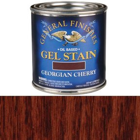 Georgian Cherry Gel Stain Solvent Based 1/2 Pint