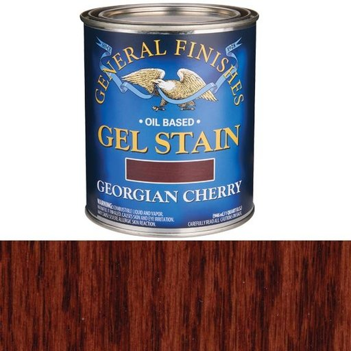 View a Larger Image of Georgian Cherry Gel Stain Solvent Based Quart