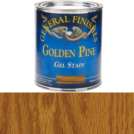 View a Larger Image of Golden Pine Gel Stain Quart