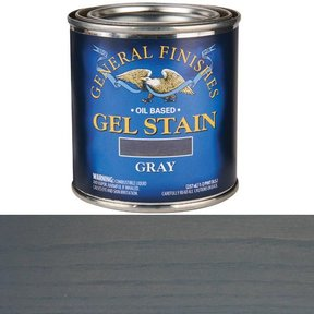 Gray Stain Gel Solvent Based 1/2 Pint