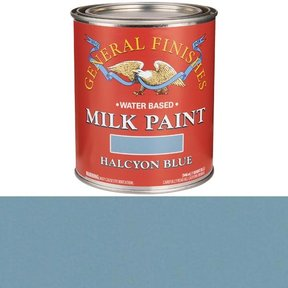 Halcyon Blue Milk Paint Water Based Quart