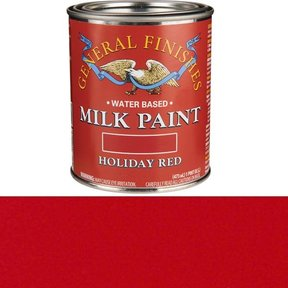 Holiday Red Milk Paint Water Based Pint