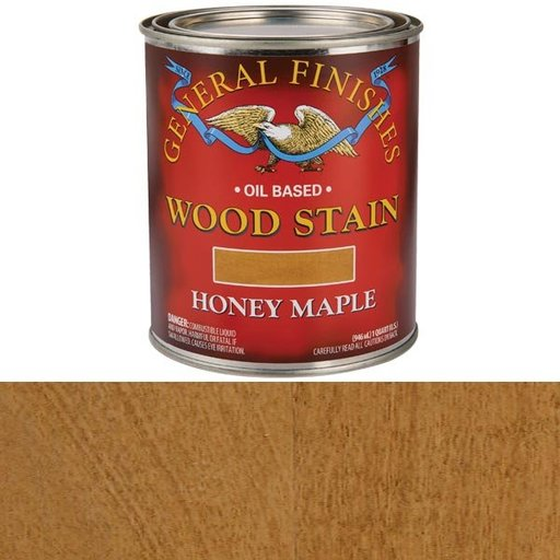 View a Larger Image of Honey Maple Oil Stain Quart