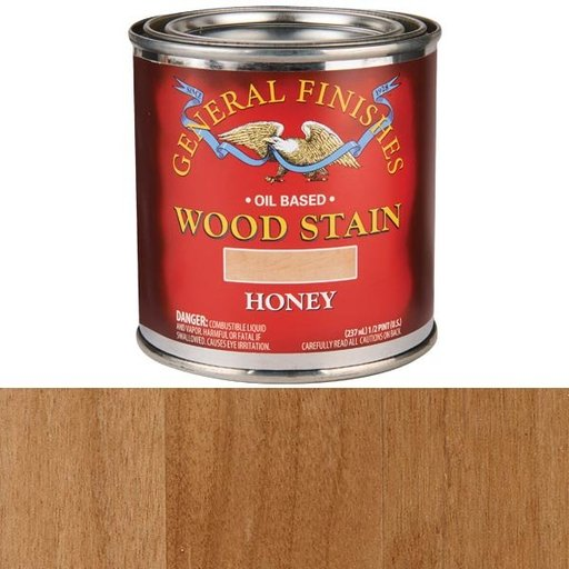 View a Larger Image of Honey Stain Solvent Based 1/2 Pint