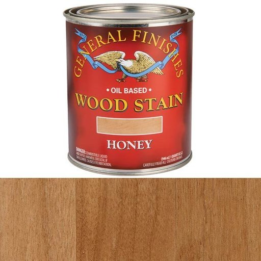 View a Larger Image of Honey Oil Stain Quart