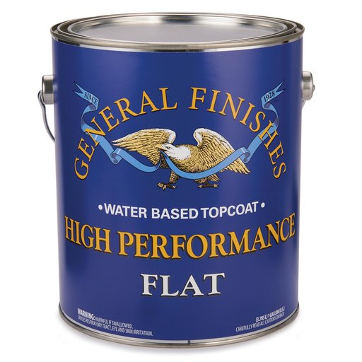 View a Larger Image of Flat High Performance Varnish Water Based Gallon