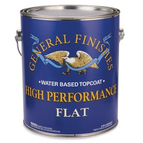 Flat High Performance Varnish Water Based Gallon