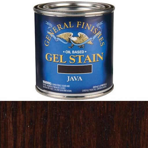 View a Larger Image of Java Gel Stain 1/2 Pint