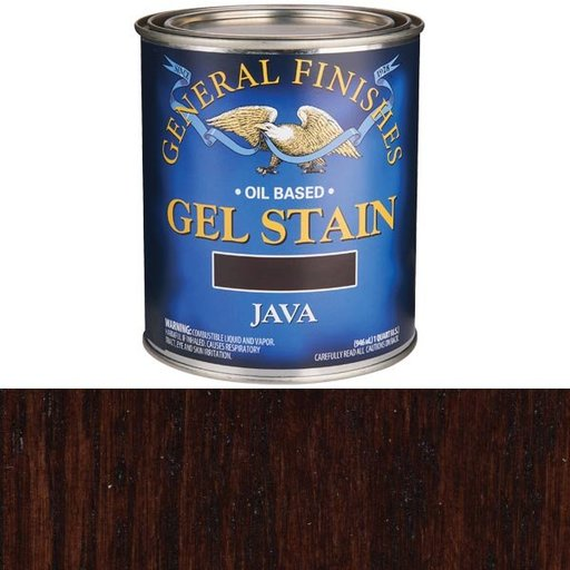View a Larger Image of Java Gel Stain Quart