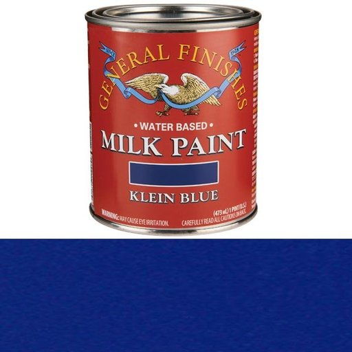 View a Larger Image of Klein Blue Milk Paint Water Based Pint