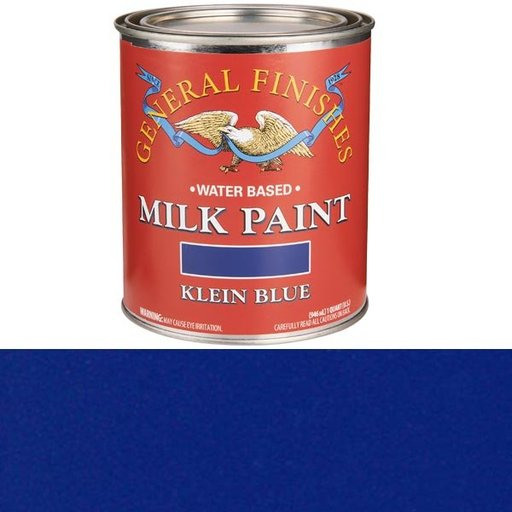View a Larger Image of Klein Blue Milk Paint Quart
