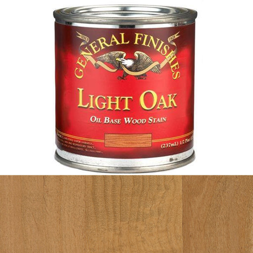 View a Larger Image of Light Oak Oil Stain 1/2 Pint