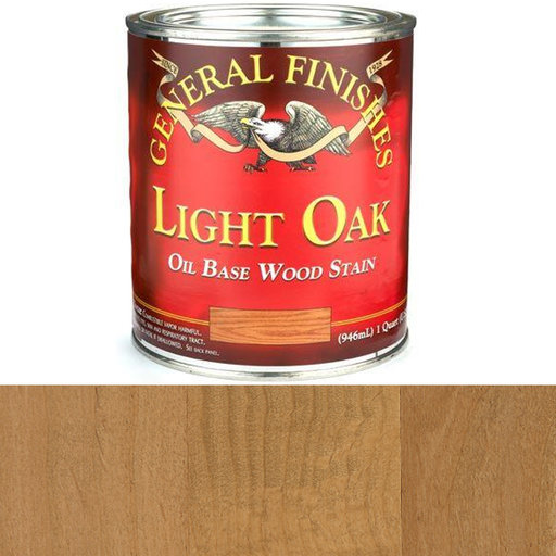 View a Larger Image of Light Oak Oil Stain Quart
