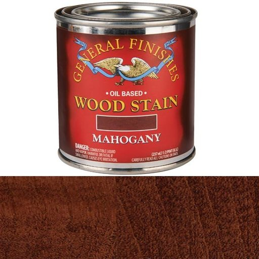 View a Larger Image of Mahogany Oil Stain 1/2 Pint