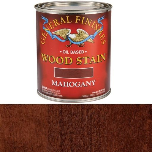 View a Larger Image of Mahogany Stain Solvent Based Quart