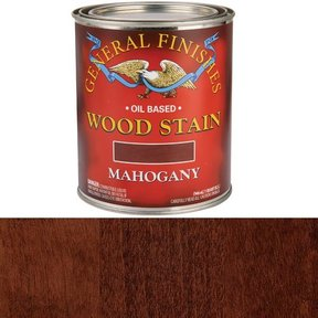 Mahogany Oil Stain Quart