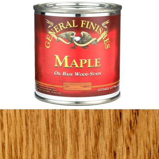 View a Larger Image of Maple Oil Stain 1/2 Pint