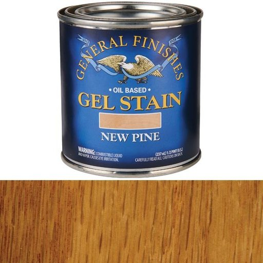 View a Larger Image of New Pine Gel Stain 1/2 Pint