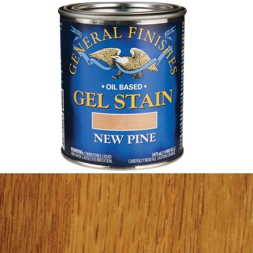View a Larger Image of New Pine Gel Stain Pint