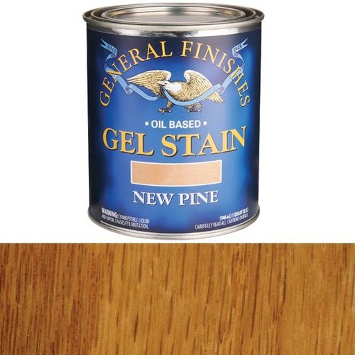 View a Larger Image of New Pine Gel Stain Solvent Based Quart