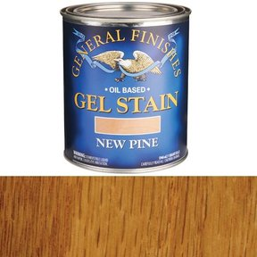 New Pine Gel Stain Solvent Based Quart