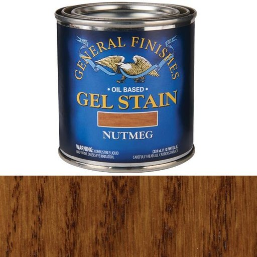View a Larger Image of Nutmeg Gel Stain 1/2 Pint