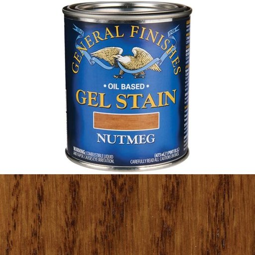 View a Larger Image of Nutmeg Gel Stain Pint