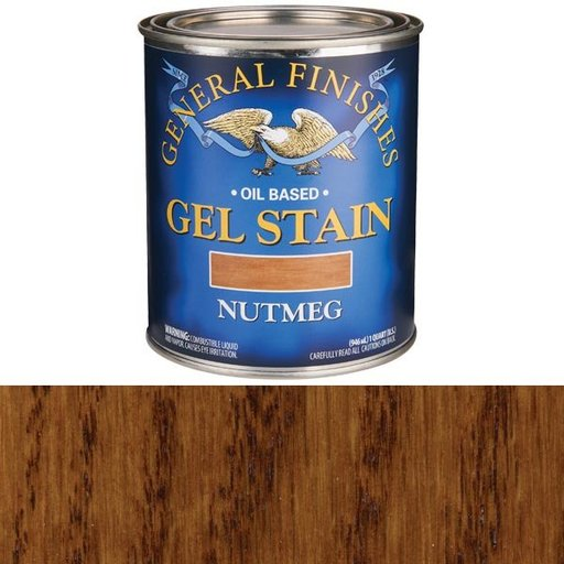 View a Larger Image of Nutmeg Gel Stain Quart