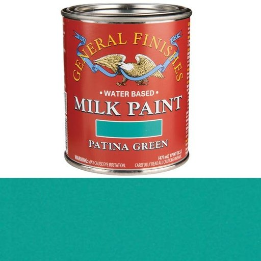 View a Larger Image of Patina Green Milk Paint Water Based Pint