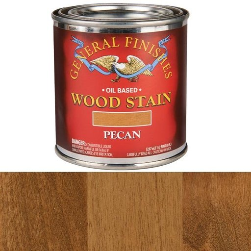 View a Larger Image of Pecan Stain Solvent Based 1/2 Pint