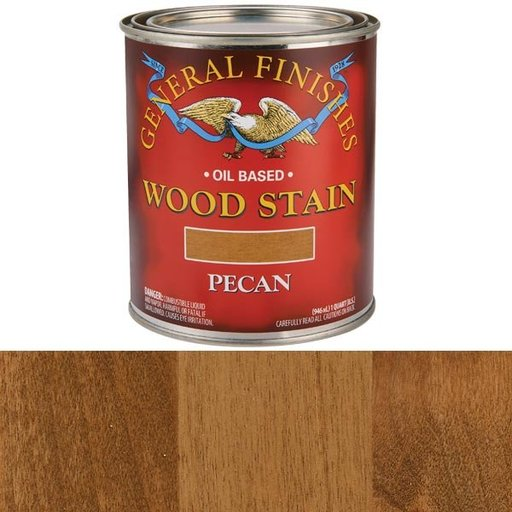 View a Larger Image of Pecan Stain Solvent Based Quart