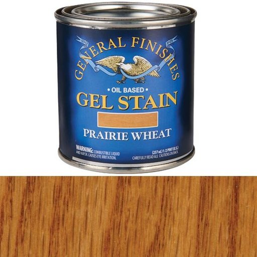 View a Larger Image of Prairie Wheat Gel Stain 1/2 Pint