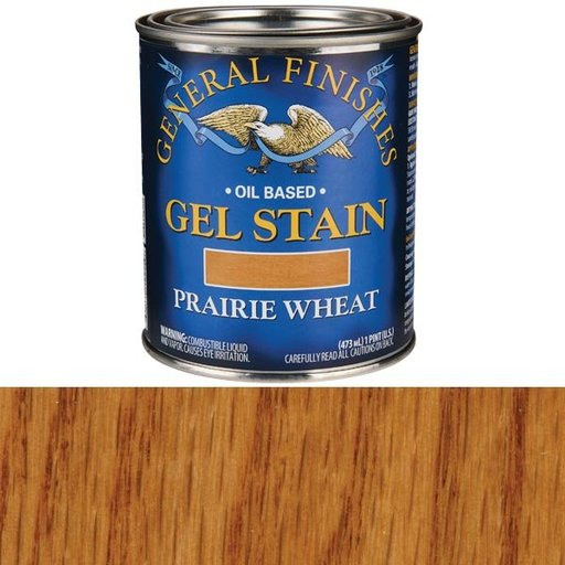 View a Larger Image of Prairie Wheat Gel Stain Solvent Based Pint