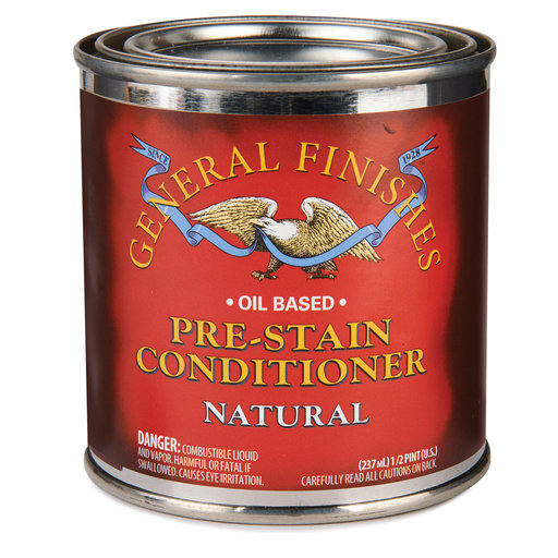 View a Larger Image of Pre-stain Wood Conditioner 1/2 Pint