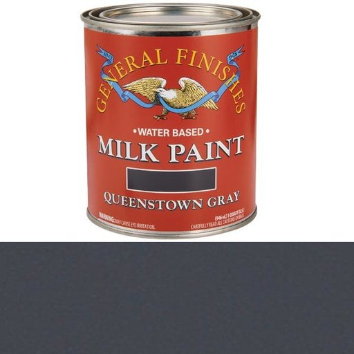 View a Larger Image of Queenstown Gray Milk Paint Quart