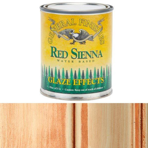View a Larger Image of Red Sienna Glaze Pint