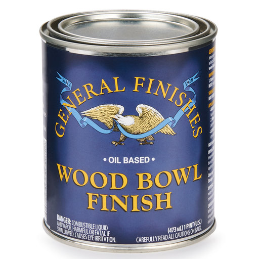 View a Larger Image of Wood Bowl Finish, Pint