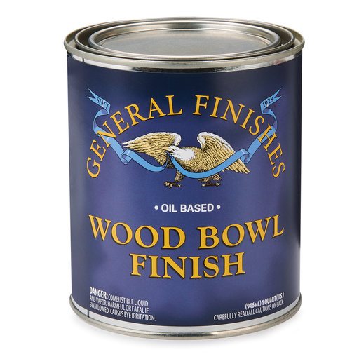 View a Larger Image of Wood Bowl Finish, Quart