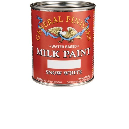View a Larger Image of Snow White Milk Paint Water Based Pint