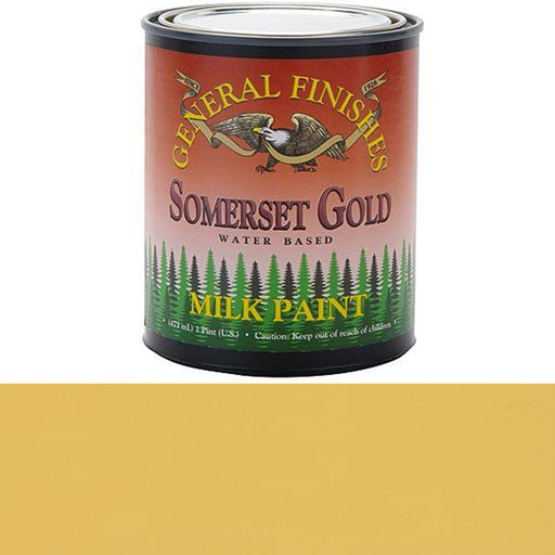 View a Larger Image of Somerset Gold Milk Paint Pint
