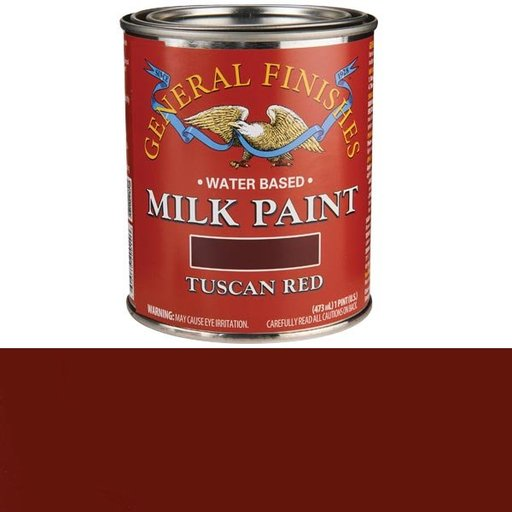 View a Larger Image of Tuscan Red Milk Paint Water Based Pint