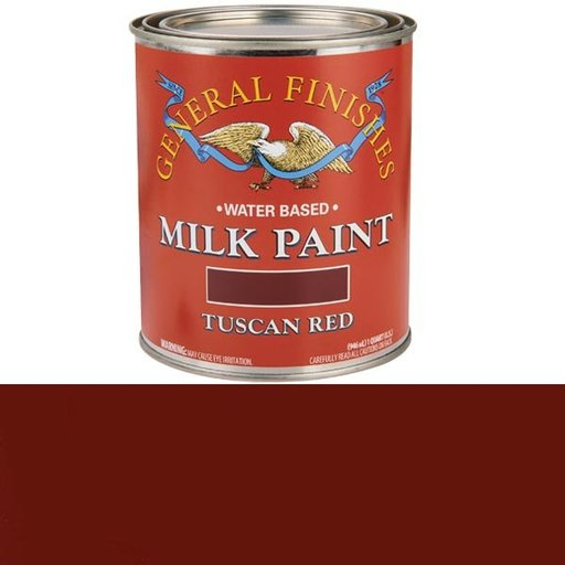 View a Larger Image of Tuscan Red Milk Paint, Quart