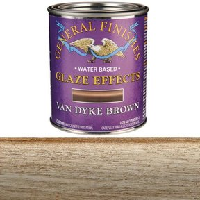 Van Dyke Brown Glaze Pint