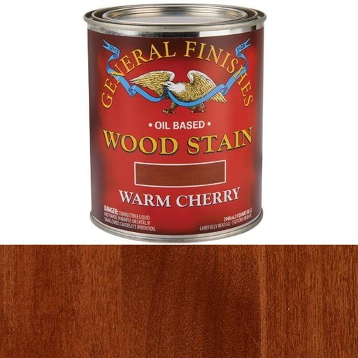 View a Larger Image of Warm Cherry Stain Solvent Based Quart