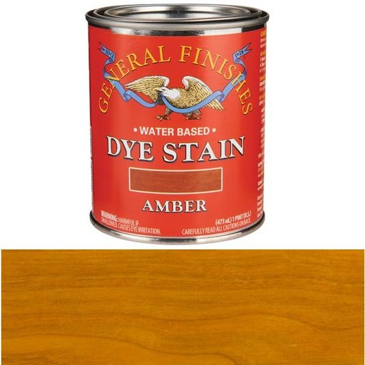 View a Larger Image of Water Based Dye Amber Pint