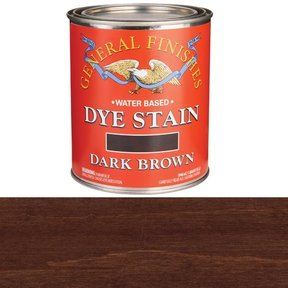 Water Based Dye Dark Brown Quart
