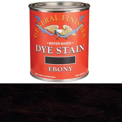 View a Larger Image of Ebony Dye Water Based Quart