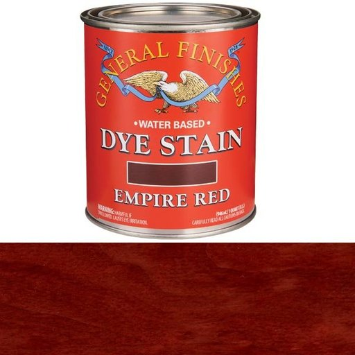 View a Larger Image of Water Based Dye Empire Red Quart