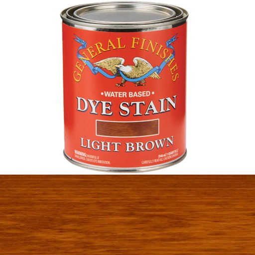 View a Larger Image of Light Brown Dye Water Based Quart
