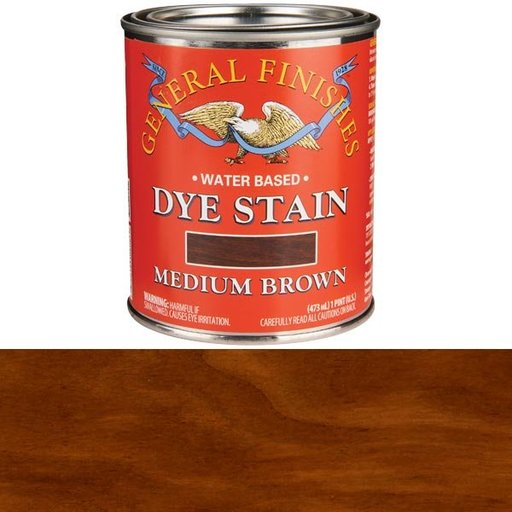 View a Larger Image of Water Based Dye Medium Brown Pint